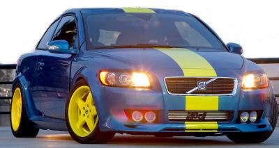 Photo du design extérieur de la nouvelle Volvo C30