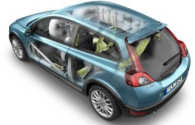 Photo de la nouvelle Volvo C30: technologies innovantes embarquées