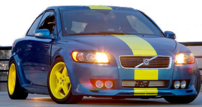 IPD est un préparateur Volvo reconnu. Découvrez leur préparation sur base de Volvo C30.
